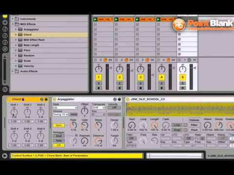 Ableton Live Tutorial – Setting up Macro Controls for Effects