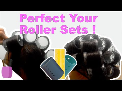 How to Roller Set Natural or Relaxed Hair: Step by Step Tutorial (Part 2)