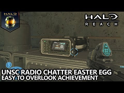 Halo Reach - Easy to Overlook Achievement Guide - Hidden UNSC Radio Chatter Easter Egg