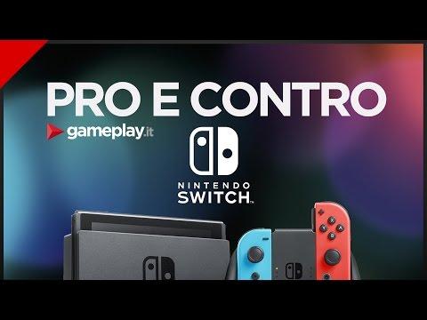 NINTENDO SWITCH: PRO E CONTRO ➤ Console, Accessori, Giochi e Prezzo