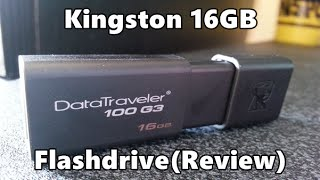 Kingston Technology 16GB USB 3.0 FlashDrive (Review)
