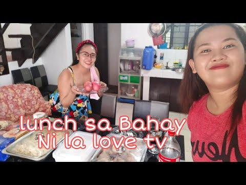 Mukbang sa Bahay Nila @ka love tv(Ang daming food)