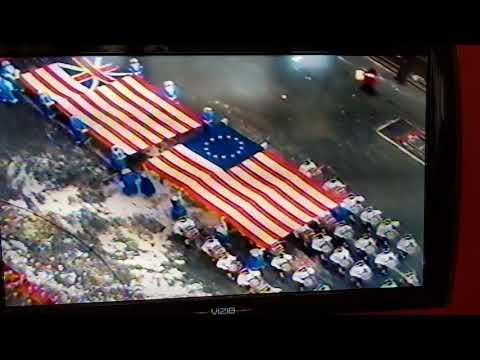 Patriots Macy's parade