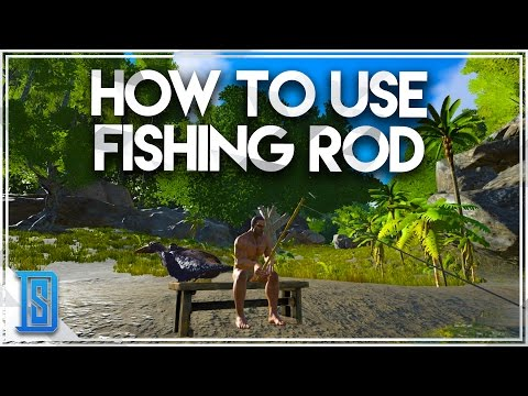 Ark survival evolved how to fish using the fishing rod for Fishing bait ark