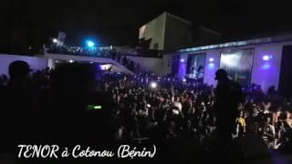 Performance de TENOR à Cotonou (Bénin) durant l'évènement Concerto Summer Time.