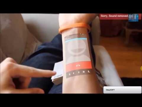 braccialetto cicret: lo smartphone disegnato sul braccio, pazzesco!