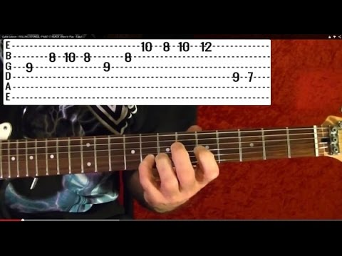 PINK FLOYD – TIME Solo – How to Play – Free Online Guitar Lessons With Tabs