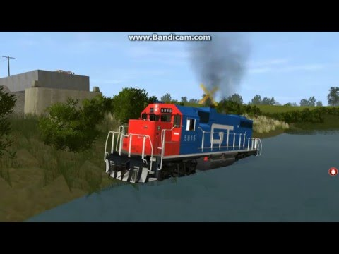 Crashes in Trainz 12 Part 4
