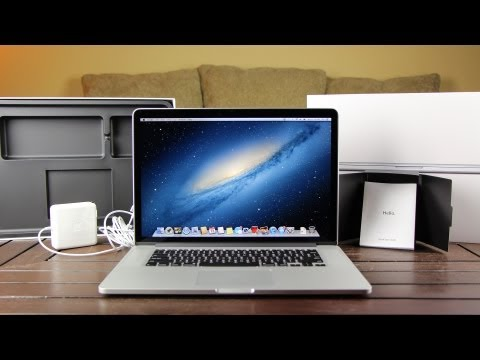 New macbook Pro - Unboxing and Overview of Apple's new MacBook Pro early 2013 with Retina Display technology. Priced from $2199 and up CPU or Processor: 2.8GHz Intel Core i7 ...