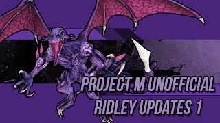 Silentdo0m's Ridley Animation revamps part 1!