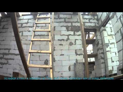 Поднять блоки своими руками на 2 этаж 53