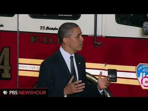 Obama at Ground Zero — 'We will never forget'