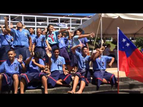 St Joseph's College Samoa @ NUS Open Day 2016
