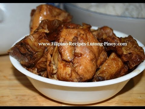 Lutong Pinoy - http://www.Filipino-Recipes-Lutong-Pinoy.com. Visit our Website for more Free Filipino Recipes! CLICK HERE! Here are the ingredients for Filipino Chicken Sav...
