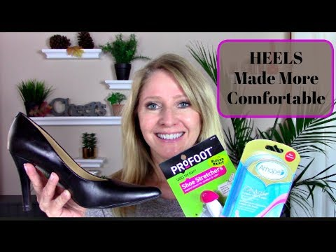 How to Make High Heels More Comfortable
