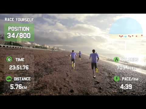GOOGLE GLASS FOR FITNESS – Race Yourself – Virtual Reality Fitness Motivation