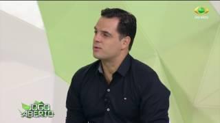 A apresentadora e os comentaristas apostaram no placar do clássico entre Timão e Peixe na Arena Itaquera.