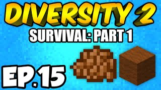 Minecraft: Diversity 2 Ep.15 - SPOOKY THINGS!!! (Diversity 2 Survival)