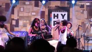 As Visionárias no Festival Hype em São Tomé de Paripe