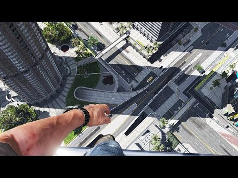 GTA 5 First Person Falling Episode 1