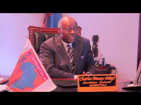 Presentation of Cerdotola by Pr Charles Binam Bikoi, Executive Secretary