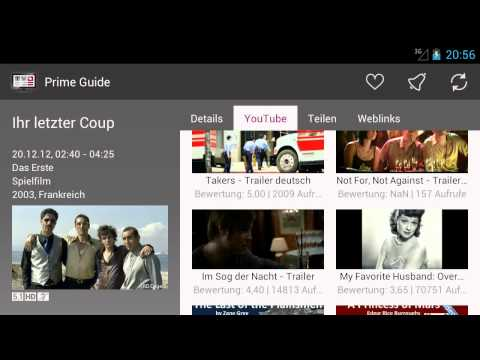 Video of Prime Guide - TV Programm