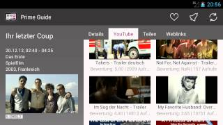 Prime Guide TV Programm YouTube video