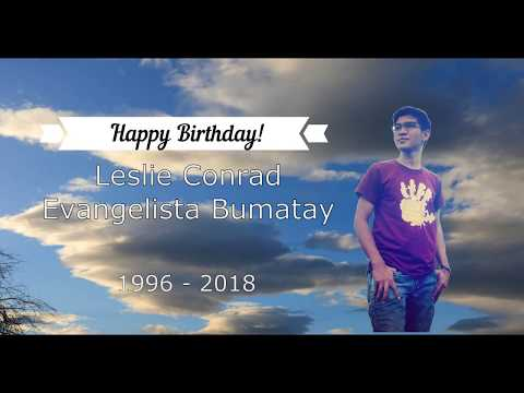 Leslie Bumatay Birthday Messages. Hahaha