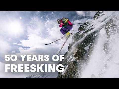 The Insane History of Freeskiing