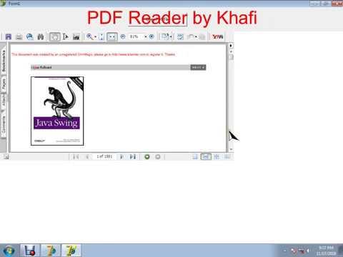 PDF Reader in Delphi