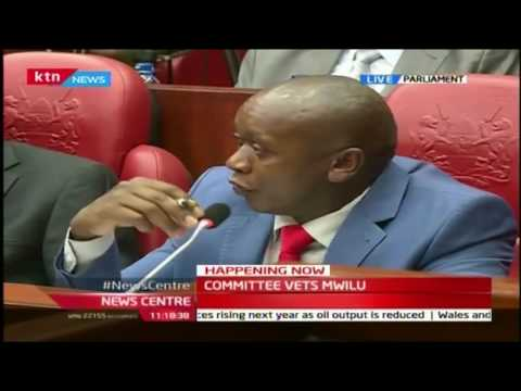 News Center: Incoming DCJ Judge Mwilu faces House Parliamentary Committee, 25/10/16