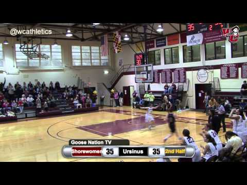 Kelly Sugalski Beats Shot Clock with Three-Pointer for Shorewomen