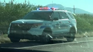 Globe (AZ) United States  city pictures gallery : Globe Arizona DPS Highway Patrol Ford Explorer at a traffic stop [AZ | 6/12/2015]