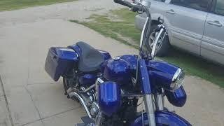 5. 2008 yamaha roadstar start up and throttle
