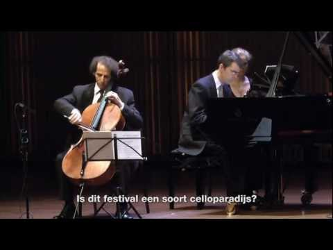 Impression Amsterdamse Cello Biënnale 2012
