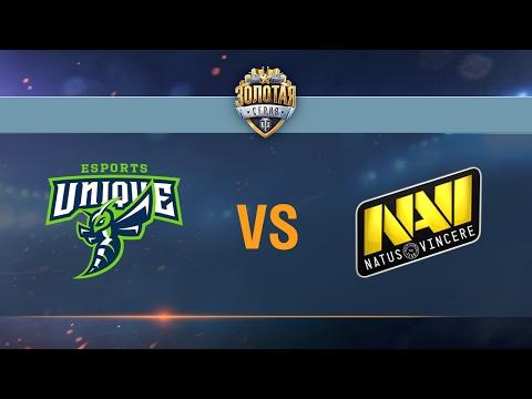 Natus Vincere G2A vs UNIQUE - day 2 week 4 Season II Gold Series WGL RU 2016/17