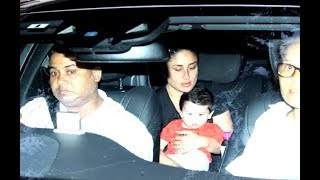 Taimur Ali Khan Pataudi returned to Mumbai after his first family vacation in Switzerland, dressed in a navy and yellow polo that perfectly matched mom Kareena Kapoor Khan's midnight blue travel outfit. The very same day, Lara Dutta was spotted at Mumbai's Terminal 2, heading out for a holiday with husband Mahesh Bhupathi and daughter Saira, and a sleeping Misha Kapoor found herself jetsetting to London for her first holiday with parents Mira Rajput and Shahid Kapoor. (Don't miss the latest pictures of the toddler playing with a football in a garden with her dad in our slideshow.