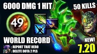 Video OMG WORLD RECORD! 6000 Dmg 1 Hit 50 Kills Lion Craziest META The MOST IMBA 7.20 Dota 2 MP3, 3GP, MP4, WEBM, AVI, FLV Desember 2018