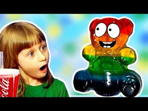 Разноцветный Желейный Медведь Сборник Видео для Детей Обнимашки с Машей - DomaVideo.Ru
