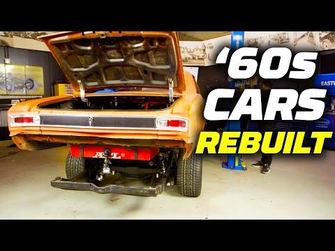 1960s Cars Rebuilt! Massive Horsepower Added | Hot Rod Garage | MotorTrend