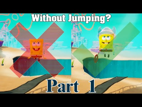 Can You Beat Spongebob BFBB Without Jumping? (Regularly) Rehydrated (Part 1)