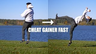 How To Cheat Gainer By Turning A 360 into A Flip