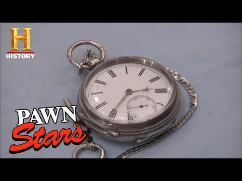 Pawn Stars: SELLER DELUSIONAL about Silver Watches Worth (Season 9)   History