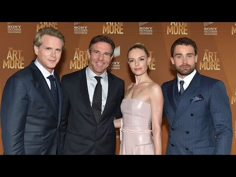 The Art of More's Dennis Quaid, Kate Bosworth, Cary Elwes & Christian Cooke