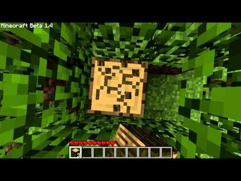 Minecraft Tutorials: How to make Planks