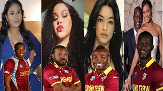 Top 10 West Indies Cricketers With  Lovely And Beautiful Wife