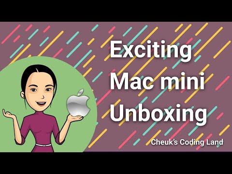 Exciting Mac mini Unboxing