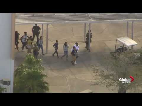 Students evacuated from Florida high school following shooting