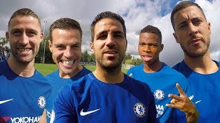 Download Video Hazard & Fabregas Take You Behind The Scenes For The Champions Team Photoshoot MP3 3GP MP4