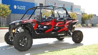 6. 2015 Polaris RZR XP 4 1000 Havasu Red Pearl